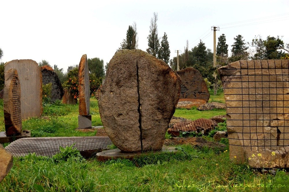Pinuccio Sciola's museum of sounding stones