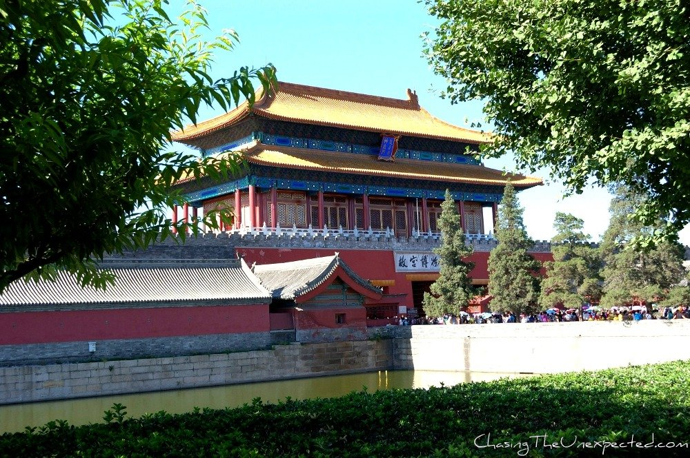 The entrance to the Forbidden City, Beijing